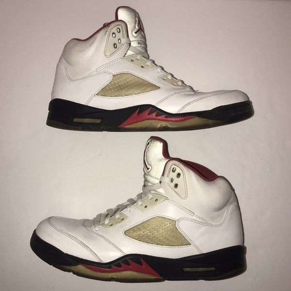 "on sale d8dca 205ab 2013 Air Jordan 5 Retro ""Fire Red"" for Sale in Tampa, FL - OfferUp"