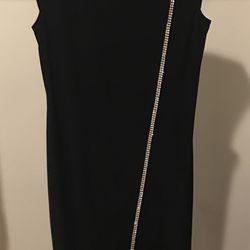 Beautiful Evening Dress With Rhinestones  Thumbnail