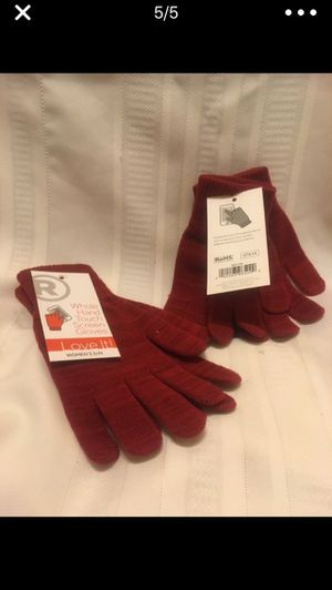 BOTH PAIRS OF TOUCH GLOVES...for ONLY $6.00 for Sale in Washington, DC