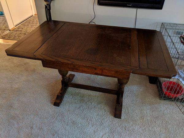 Antique Wooden Gaming Table For Sale In Edmonds WA OfferUp Best Wooden Gaming Table