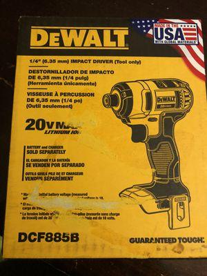 Dewalt drill new never open for Sale in Orlando, FL