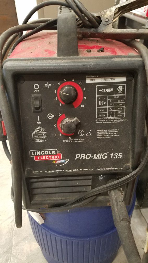 Welder Lincoln Pro Mig 135 For Sale In Miami Gardens Fl Offerup