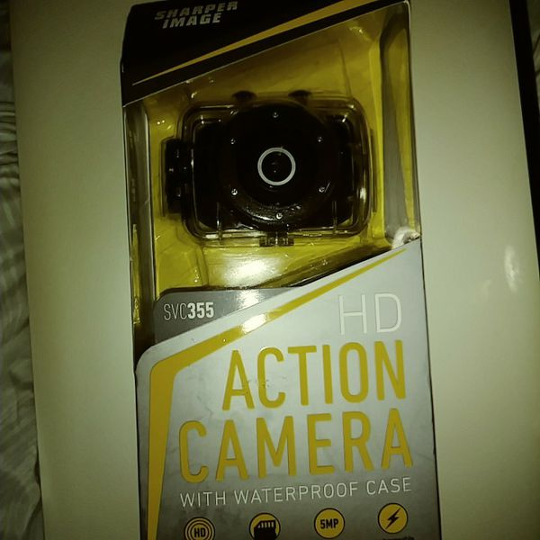 Sharper Image Hd Action Camera With Waterproof Case For Sale In