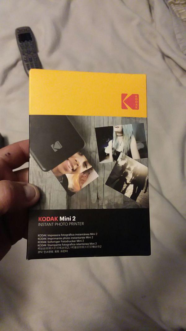 Kodak Mini 2 Instant Bluetooth Photo Printer New In Box For Sale In