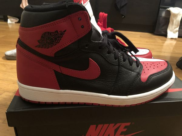 watch 69cbb f437b Air Jordan retro 1 homage to home size 11 wore once for Sale in Cliffside  Park, NJ - OfferUp