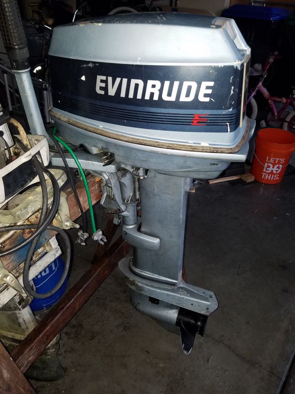 25 Hp Evinrude For Sale >> 25hp Evinrude Outboard Motor For Sale In Orlando Fl Offerup