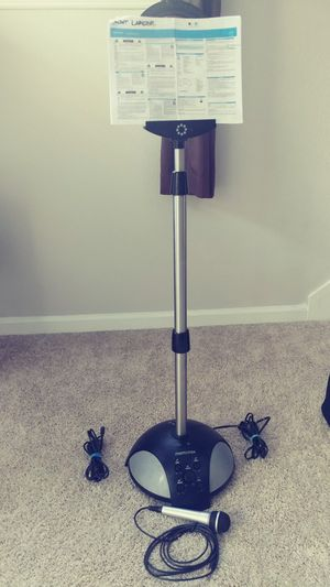 Memorex SingStand 2 Home Karaoke System for Sale in Apex, NC