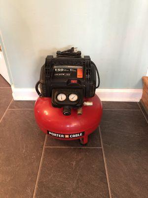 Photo Porter cable air compressor