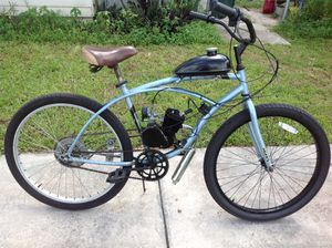 80cc motorized bicycle ready to ride home runs good for Sale in Hollywood, FL