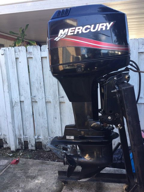 90 Hp Mercury Outboard >> 2008 Mercury 90 Hp Two Stroke Outboard Motor Only 50 Hrs For Sale In