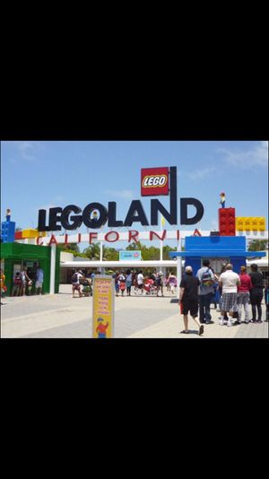 Legoland tickets hoppers 8 available can sell separate $45 for Sale in San Diego, CA