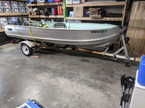 1981 Sears Gamefisher Boat and 1992 Yahama 15hp 2 Stroke Motor for Sale in  Seattle, WA - OfferUp
