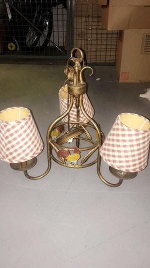 Ceiling lamp,coffe table,corner table for Sale in Fairfax, VA