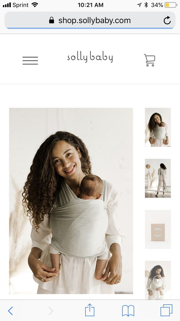 83467c31205 Solly baby wrap standard size in fern SOLD OUT ONLINE for Sale in ...