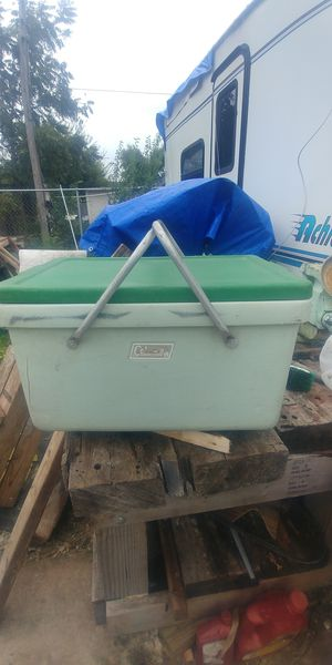 1971 Colman ice chest for Sale in San Antonio, TX
