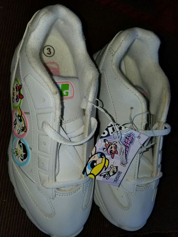 bcf73d2a518e4 Brand new Powerpuff girl tennis shoes size 3 for Sale in Milpitas, CA -  OfferUp