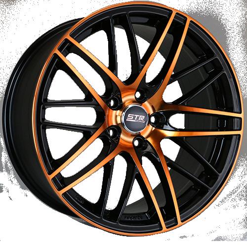 """18"""" STR 511 Black/Copper Wheels Rims For Sale In Vernon"""