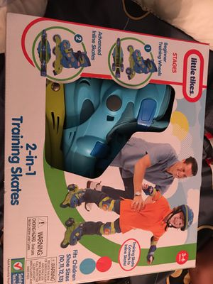 Boys Little Tikes 2 in 1 Training Skates for Sale in Gaithersburg, MD