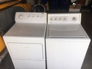 Photo Kenmore Elite Washer and Dryer Heavy Duty