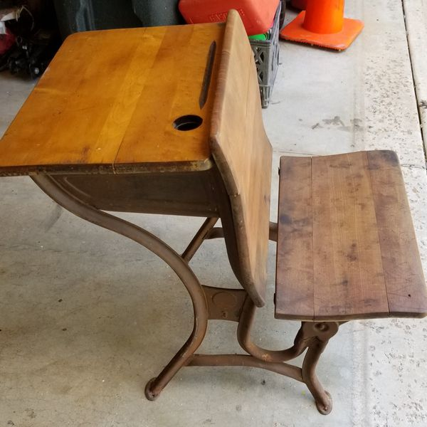 - Antique School Desk For Sale In Fenton, MO - OfferUp