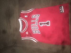 Derrick rose bulls jersey for Sale in Woodbridge, VA
