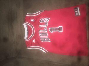 Derrick rose bulls jersey for Sale in Woodbridge, VA