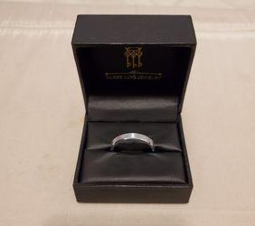 Three Keys Tungsten Ring (Size 11.5) Thumbnail