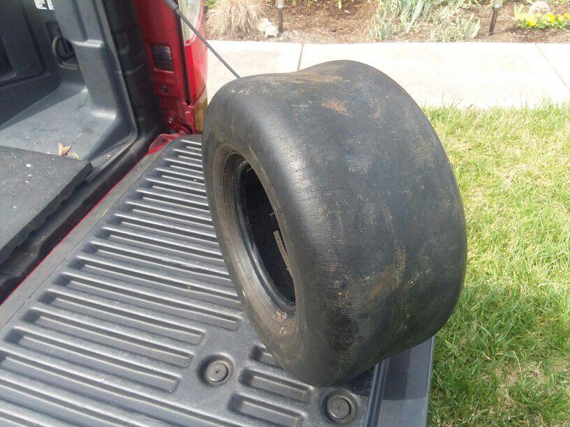 Tire For Zero Turn Mower .slick Type .