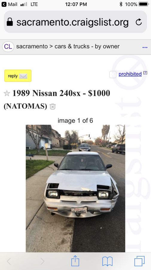 1989 Nissan 240 For Sale In Sacramento Ca Offerup