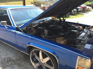 1984 Cadillac DeVill coupe for Sale in Manassas, VA