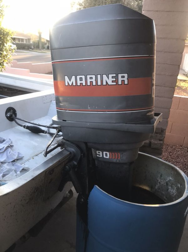 Phoenix Boats For Sale >> 1988 mariner outboard motor 90 hp for Sale in Phoenix, AZ ...
