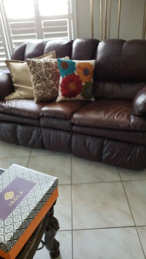 New and Used Leather sofas for Sale in St. Petersburg, FL ...
