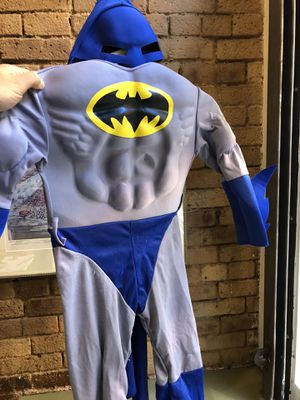 BatMan muscle costume - kids small Tribeca Manhattan for Sale in New York, NY