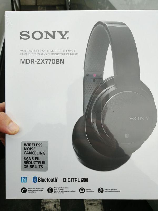 New Sony Wireless Bluetooth Headphones Audio Equipment In San Jose