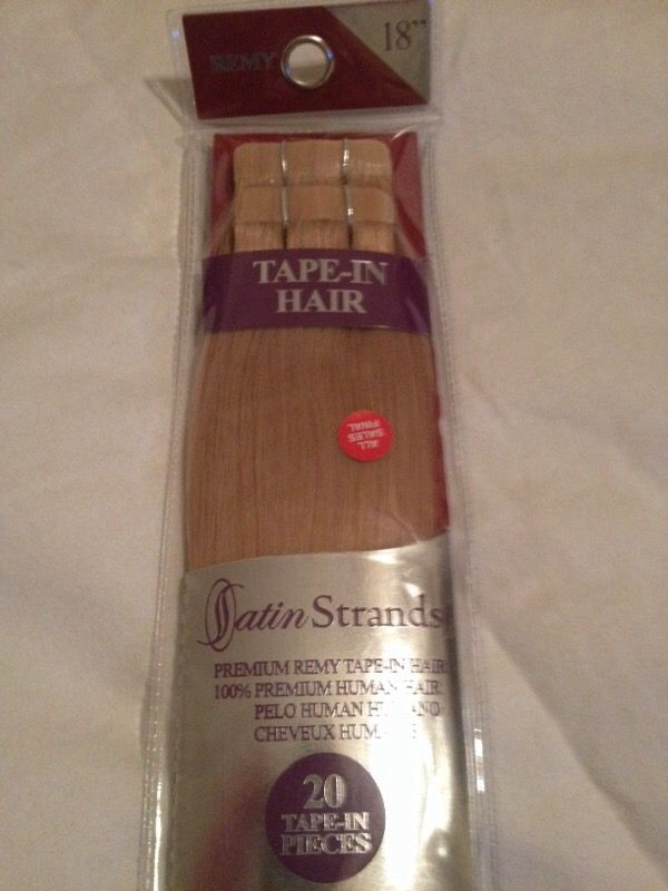 Satin Strands Premium Remy Human Hair Tape In Extensions 18 Inch