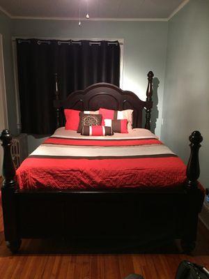 7 Pc Cherry Wood Bedroom Set For In Glen Ridge Nj