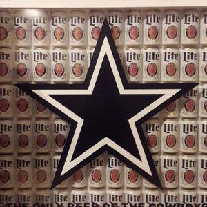 Dallas Cowboys Miller Lite Frame Obo For Sale In Fort Worth Tx
