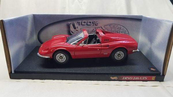 Hot Wheels Ferrari Dino 246 Gts 118 Diecast For Sale In Coral Springs Fl Offerup