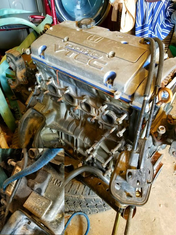 JDM H22a Honda Prelude Motor for Sale in Houston, TX - OfferUp H A Wiring Harness on