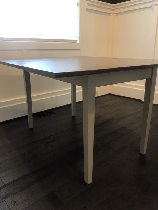 Crate And Barrel Flip Small Vamelie Dining Table For Sale In Bellevue