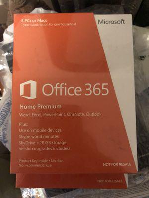 Office 365 5 pcs for Sale in Spanaway, WA