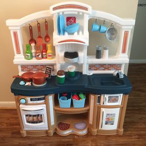 Photo Kids kitchen including all food and accessories