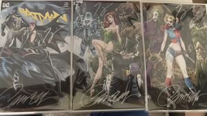 Batman 50 Dual signed J. Scott Campbell variant. Signed by J. Scott Campbell and Tom King for Sale in Fairfax, VA