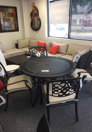 Ashley furniture outdoor dining table and 4 chairs were $1200 for Sale in Springfield, VA