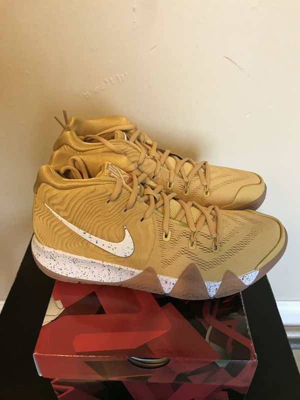 the latest 3623d bf727 Mens Size 8 Nike Kyrie 4 Cinnamon Toast Crunch for Sale in Sunrise, FL -  OfferUp
