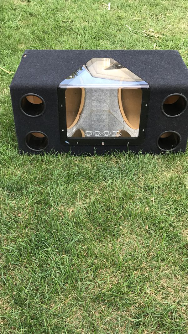 """Box subwoofer 12"""" no speakers for Sale in IL, US - OfferUp"""