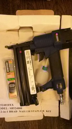 2 inch portable nail gun (air compressor hook up) for Sale in Columbia, MD