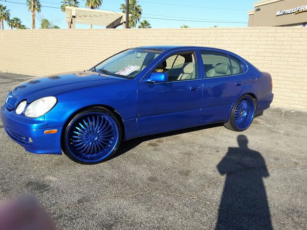 Custom 99 Lexus Gs300 On 22s For Sale In Palm Springs Ca Offerup