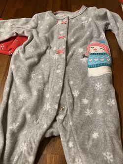 Baby girl Christmas jammies Thumbnail
