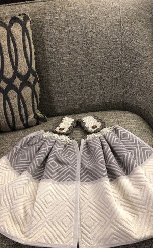 Set of 2 double hand crochet kitchen towels. Please see all the pictures and read the description for Sale in Falls Church, VA
